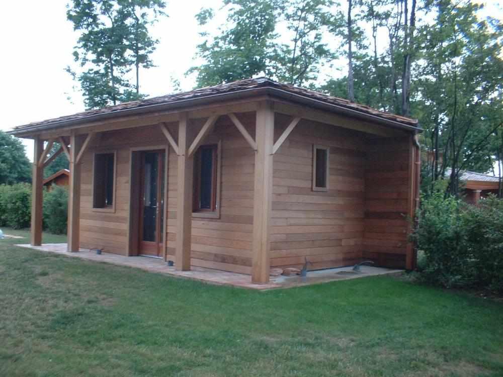 Cabane - Construire cabane jardin bois amiens ...